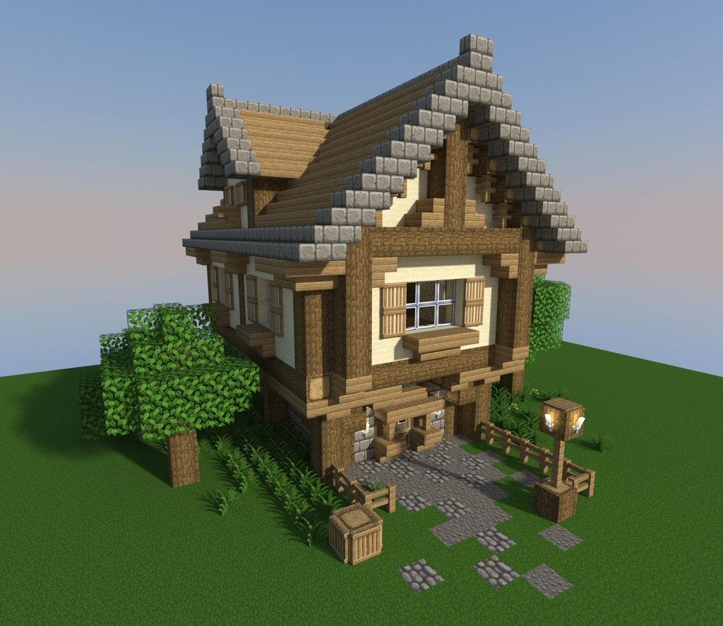 Natural Looking Buildings : Natural craft survival pve looking for mature players