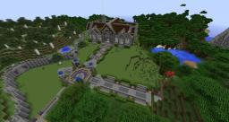 Spawn build for TooCrafty SMP fan server Minecraft Map & Project