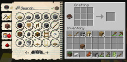 Rustic Recipe Book | Vanilla Minecraft Texture Pack