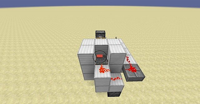 how to make a small redstone clock