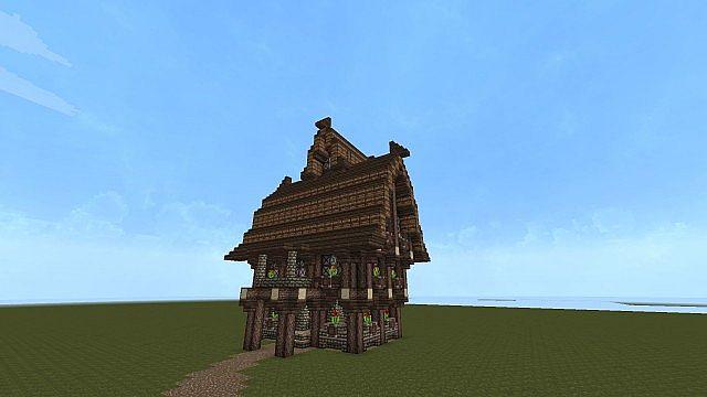 Mittelalter Haus Minecraft Project - Minecraft kleine mittelalter hauser