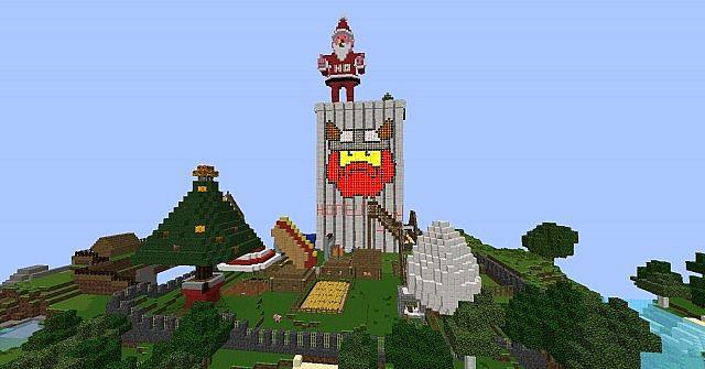 Yogscast tekkit world duncans castle and honeydew inc minecraft christmas at honeydew inc gumiabroncs Images