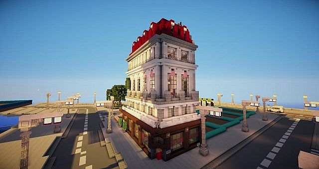 Dining In The Dark London >> Victorian/Imperial/London townhouse and Pub Minecraft Map