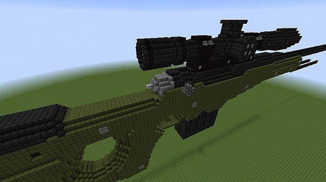 how to make a tnt machine gun in minecraft pc