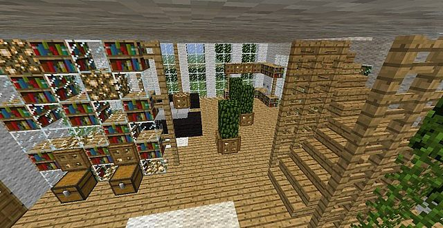 Rich House Minecraft Project