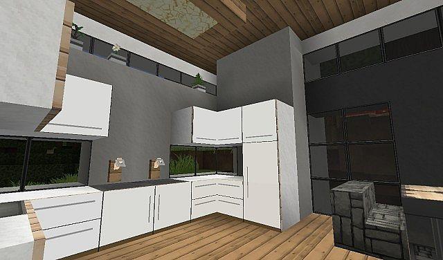 Home design interior singapore minecraft modern kitchen for Kitchen designs in minecraft