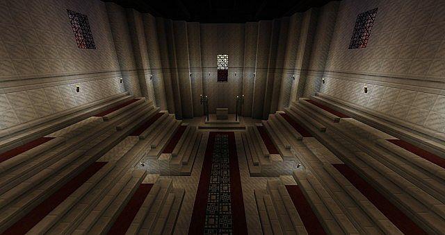 Interior of Curia