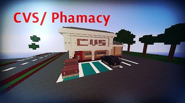 cvs   pharmacy minecraft project