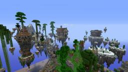 Floating island remake Minecraft