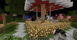 Merry Go Round With Actual Horses Minecraft Map & Project