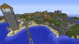 Nicks Town Minecraft Map & Project
