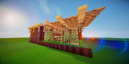 Modern Eco Village | Restaurant 1 Minecraft Map & Project