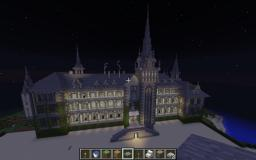 Great Gatsby Mansion Minecraft Project