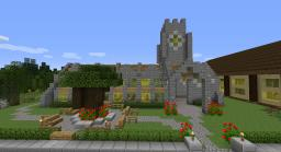 Medieval-Style Cathedral Minecraft Map & Project
