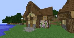Simple Medieval house tutorial! Minecraft Map & Project