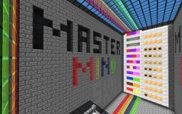 [1.8] MASTERMIND Redstone Minigame – The original puzzle! [6 to 9 colors] [MULTIPLAYER mode] Minecraft Map & Project