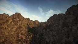 Realistic Warm-Climate Valley | Custom Terrain [The Valley of the Dragon] -by TylerTimoJ Minecraft