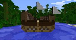 Minecraft Shootable Ship