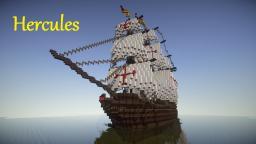 Spanish Royal Galleon: Hercules Minecraft Map & Project