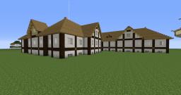 Stylish white shopping mall Minecraft Map & Project