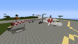 Regional Passenger Aircraft w/ Loaders Minecraft Project