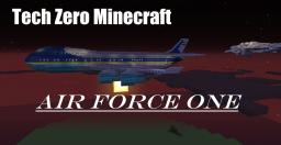 Air Force One - Plane Minecraft Model Minecraft Map & Project