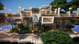 Modern House 10 Minecraft Map & Project