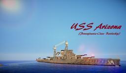 Pennsylvania-Class Battleship (USS Arizona) [Full Interior] Minecraft Map & Project