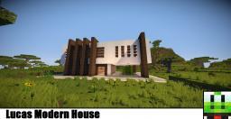 Lucas Modern House Minecraft Map & Project