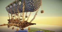 Steampunk Airship -Pegasos- Minecraft Map & Project