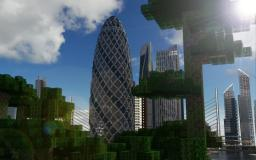 30 St Mary Axe (The Gherkin) Minecraft