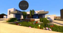 Angle   Modern home Minecraft Map & Project