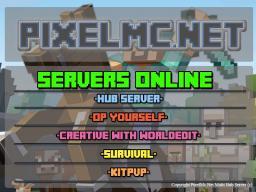 PixelCraft  [1.7.4] -->FREE OP SERVER type /OP - INGAME! -  *** GREIFING ALLOWED Minecraft Server
