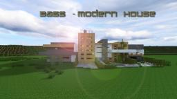 I BASS I ~Modern Home Minecraft Map & Project