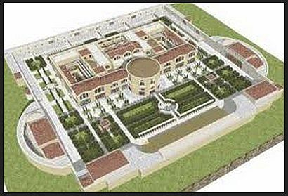 Baths of Caracalla as inspiration