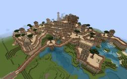 Desert Mountain Minecraft Map & Project