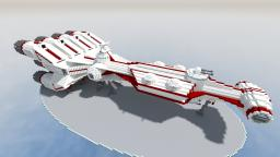 StarWars- Corellian CR70 corvette Minecraft
