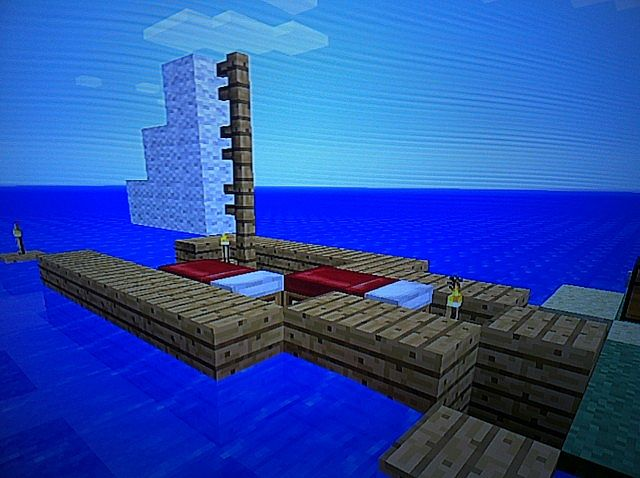 how to make a moving boat in minecraft xbox 360