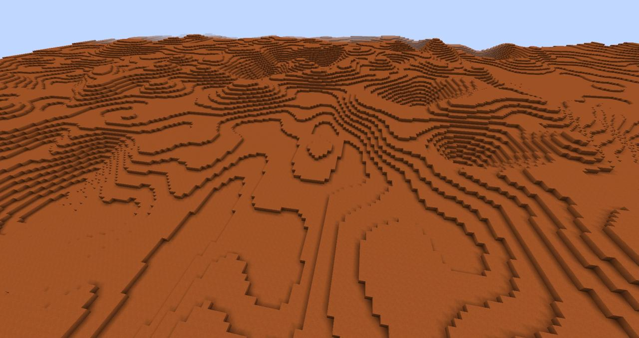Mars_1.7.4 Minecraft Project