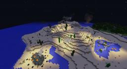 The Midnight Battle of Block Bay Minecraft Map & Project