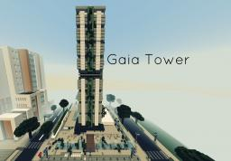 """Modern Skyscraper """"Gaia Tower"""" (eco friendly offices) Minecraft Map & Project"""