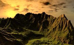 Mountain Render Minecraft