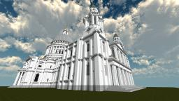 St.Pauls Cathedral (in London) 1:1 Minecraft Project