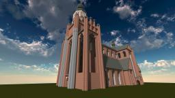 St.Mary's Church in Stralsund 1:1 Minecraft Project