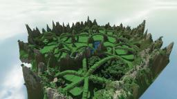 The Twisted Grove - A land of nature and ruin Minecraft Map & Project