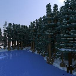 The Winter Wonderland Minecraft Map & Project
