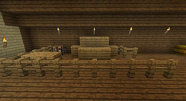 Medieval stables minecraft project for Minecraft carpentry bench