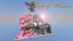 The Fight of Blossoms Minecraft