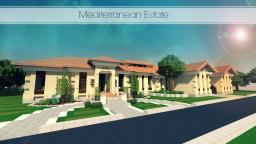 Mediterranean Estate [Commission] Minecraft Map & Project
