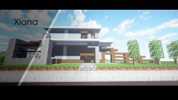 Xiana | Modern beach house Minecraft Map & Project